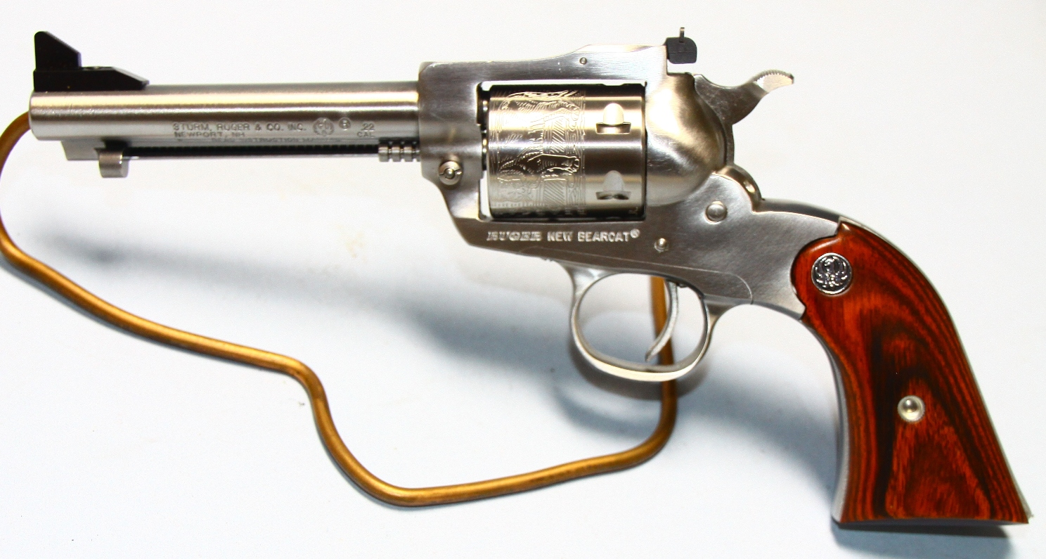 revolver ruger 22lr