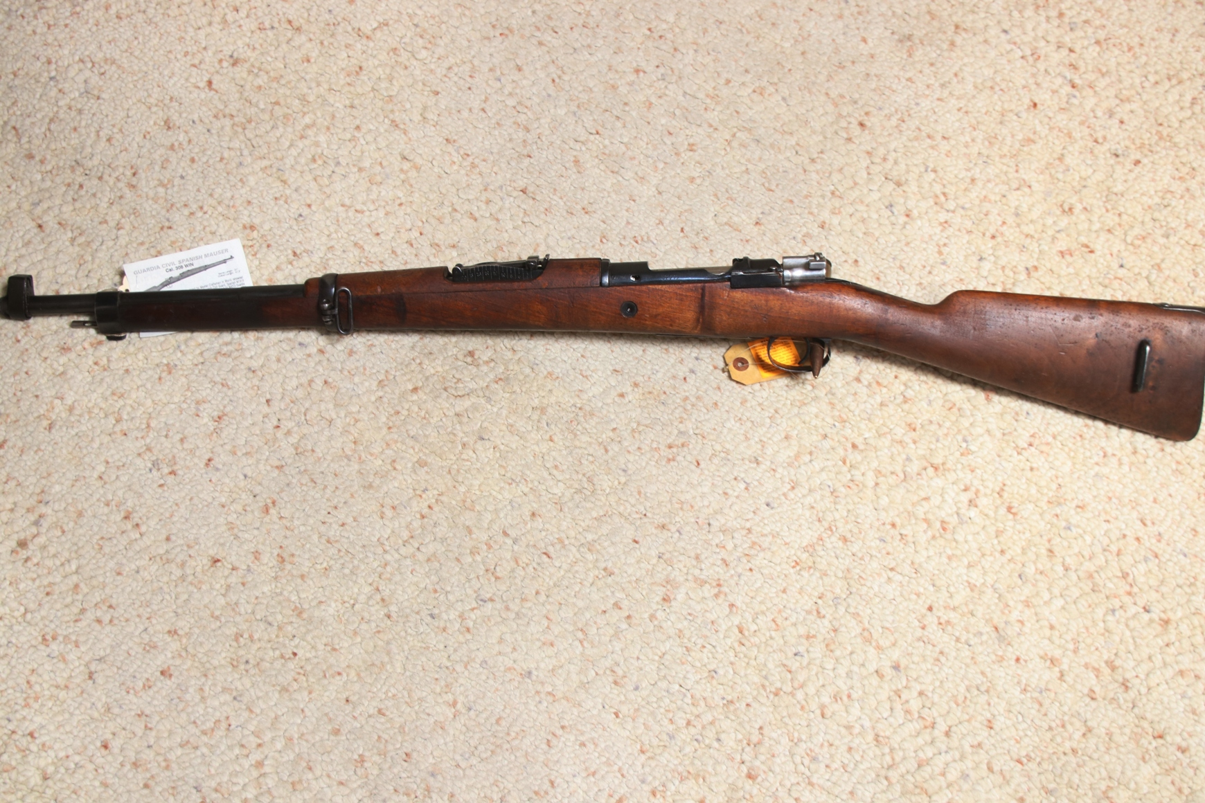 Mauser - Spanish,  308 Rifle  $425 00 REDUCED | De Chiel