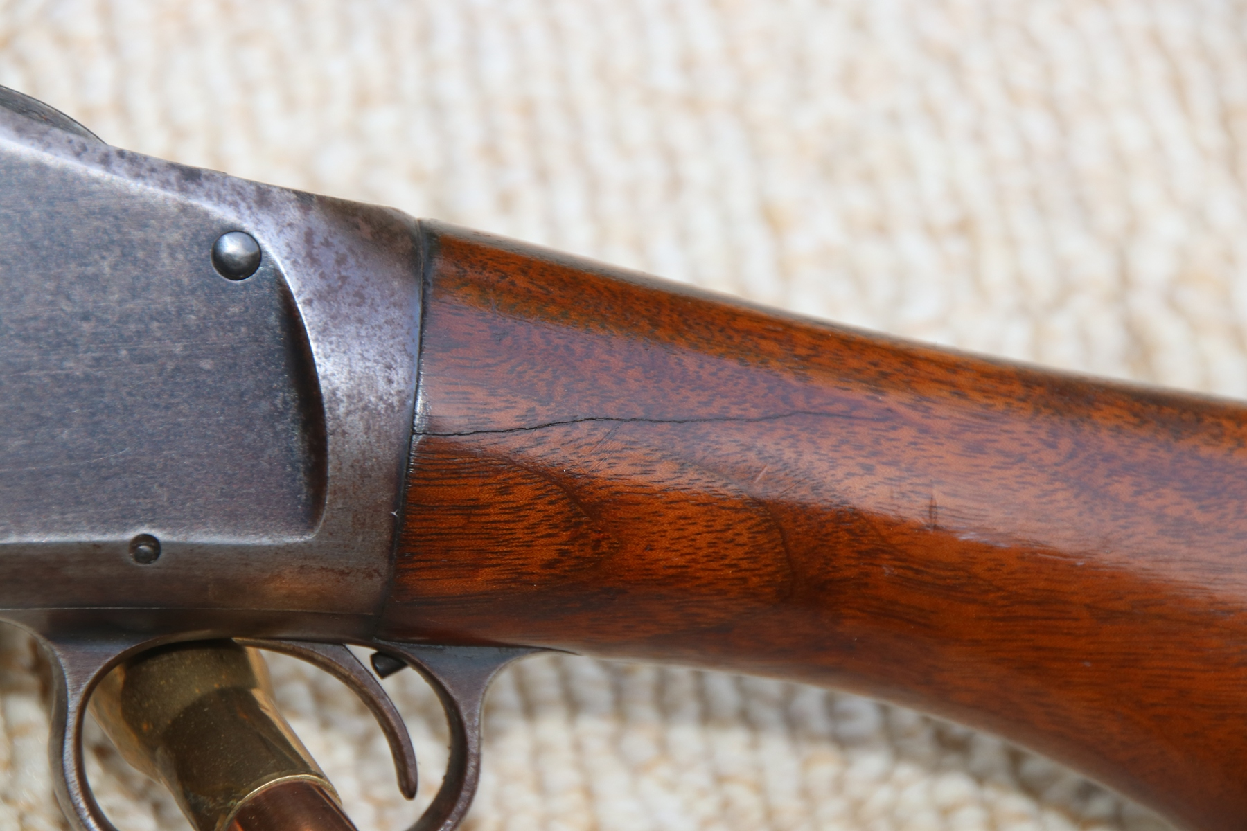 Winchester -1897, 12GA, pump shotgun  $495 00 SOLD | De Chiel Firearms