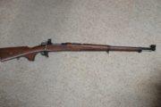 Mauser - Swedish 96, 6.5 X 55 rifle.  $899.00  SOLD