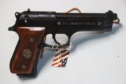 Beretta - Commemorative M-9 ,9MM pistol.  $900.00