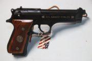 Beretta - Commemorative M-9 ,9MM pistol.  $900.00  SALE PENDING