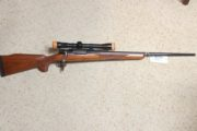 Mauser  - 7mm bolt action rifle.  $595.00