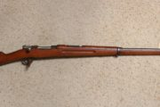Mauser  -  Swed 96, 6.5mm rifle.  $575.00