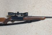 Browning  -  BAR, 30-06 rifle.  $775.00