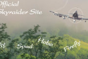 "Click to visit the ""Official Site of the A-1 Skyraider"""